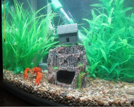 Fish Tank Aquarium Landscaping Simulation Wood Resin Decorative with